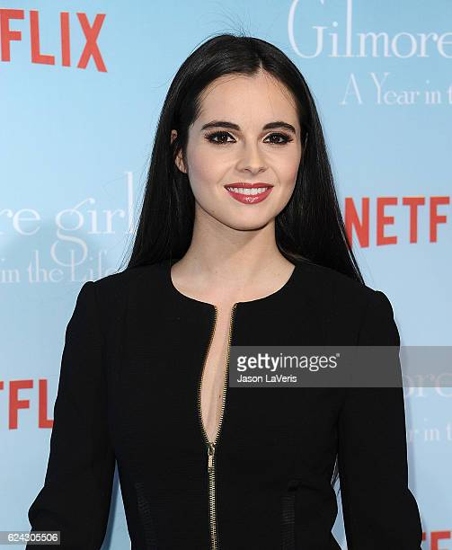 Actress Vanessa Marano attends the premiere of 'Gilmore Girls A Year in the Life' at Regency Bruin Theatre on November 18 2016 in Los Angeles...