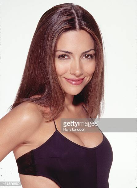 Actress Vanessa Marcil poses for a portrait in 2002 in Los Angeles California
