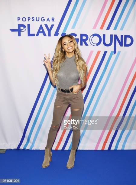 Actress Vanessa Morgan attends day 2 of POPSUGAR Play/Ground on June 10 2018 in New York City