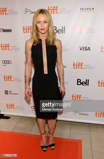 Actress Vanessa Paradis arrives at the 'Fading Gigolo' premiere during the 2013 Toronto International Film Festival at Isabel Bader Theatre on...