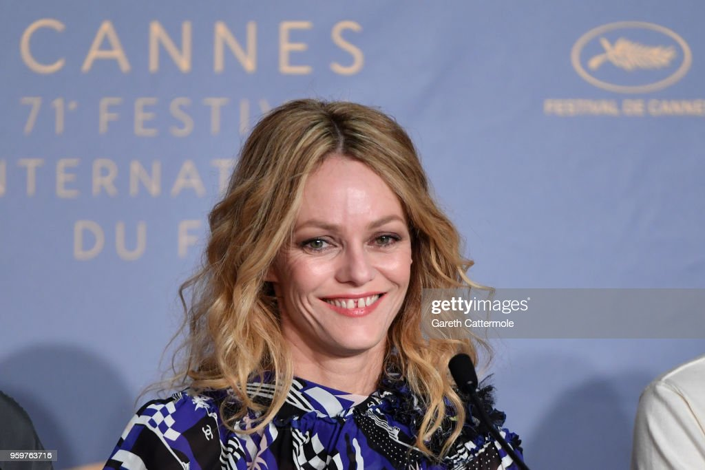 "FRA: ""Knife + Heart (Un Couteau Dans Le Coeur)"" Press Conference - The 71st Annual Cannes Film Festival"