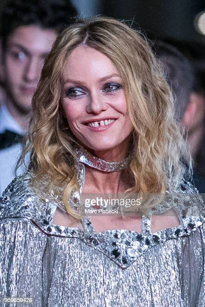 Actress Vanessa Paradis attends the screening of 'Knife Heart ' during the 71st annual Cannes Film Festival at Palais des Festivals on May 17 2018 in...