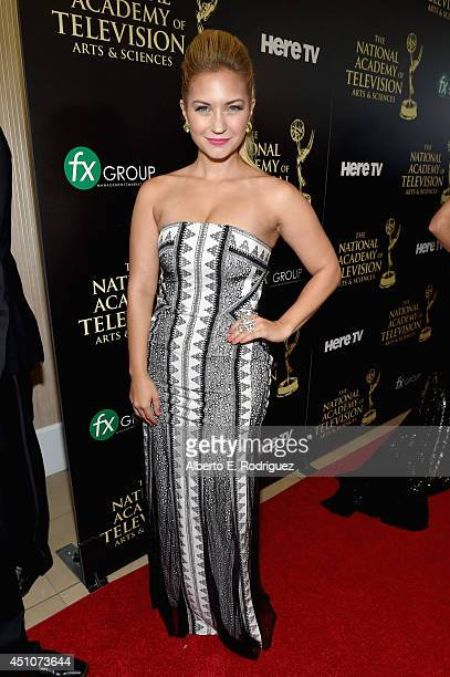 Actress Vanessa Ray attends The 41st Annual Daytime Emmy Awards at The Beverly Hilton Hotel on June 22 2014 in Beverly Hills California