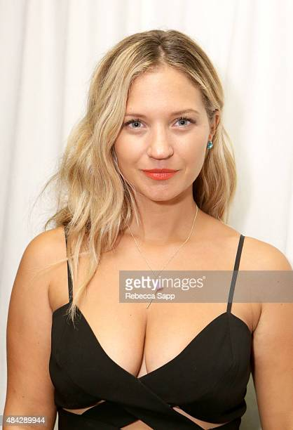 Actress Vanessa Ray attends the Backstage Creations retreat at Teen Choice 2015 at the Galen Center on August 16 2015 in Los Angeles California