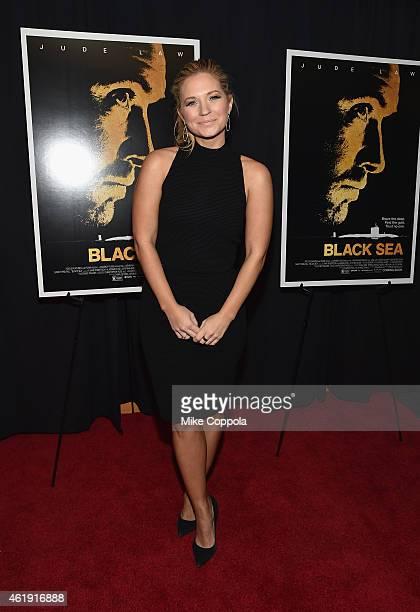Actress Vanessa Ray attends the Black Sea New York screening at Landmark Sunshine Cinema on January 21 2015 in New York City
