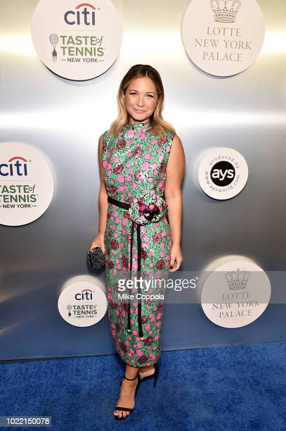 Actress Vanessa Ray attends the Citi Taste Of Tennis gala on August 23 2018 in New York City