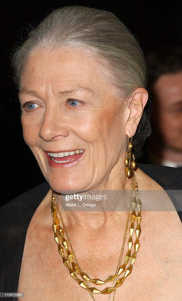 Actress Vanessa Redgrave arrives at the Los Angeles Premiere of Focus Features' 'Atonement' held on December 6, 2007 at The Academy Theater in Beverly Hills, California.