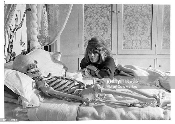 Actress Vanessa Redgrave as Leonie Delt on set of the movie ' Morgan ' in 1966