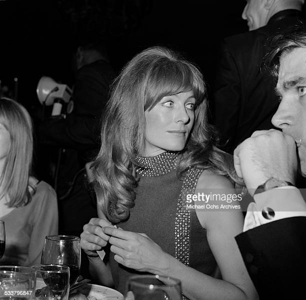 Actress Vanessa Redgrave attend an event in Los AngelesCA