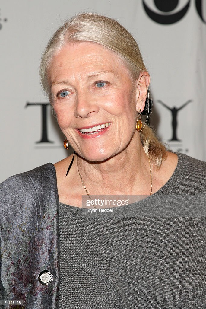 Actress Vanessa Redgrave attends the 2007 Tony Awards nominees press reception at the Marriott Marquis on May 16, 2007 in New York City.