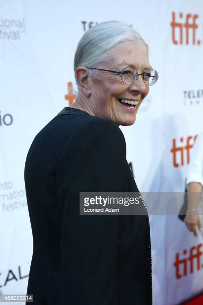 Actress Vanessa Redgrave attends the 'Foxcatcher' premiere during the 2014 Toronto International Film Festival at Roy Thomson Hall on September 8...