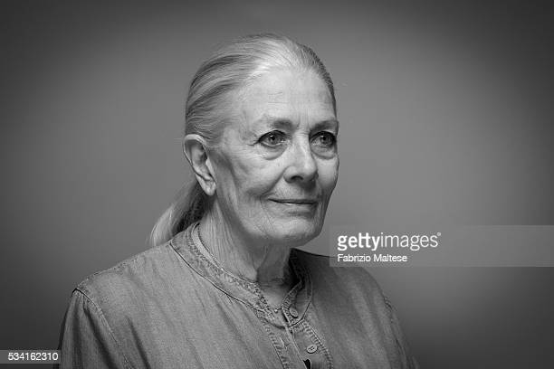 Actress Vanessa Redgrave is photographed for The Hollywood Reporter on May 14 2016 in Cannes France