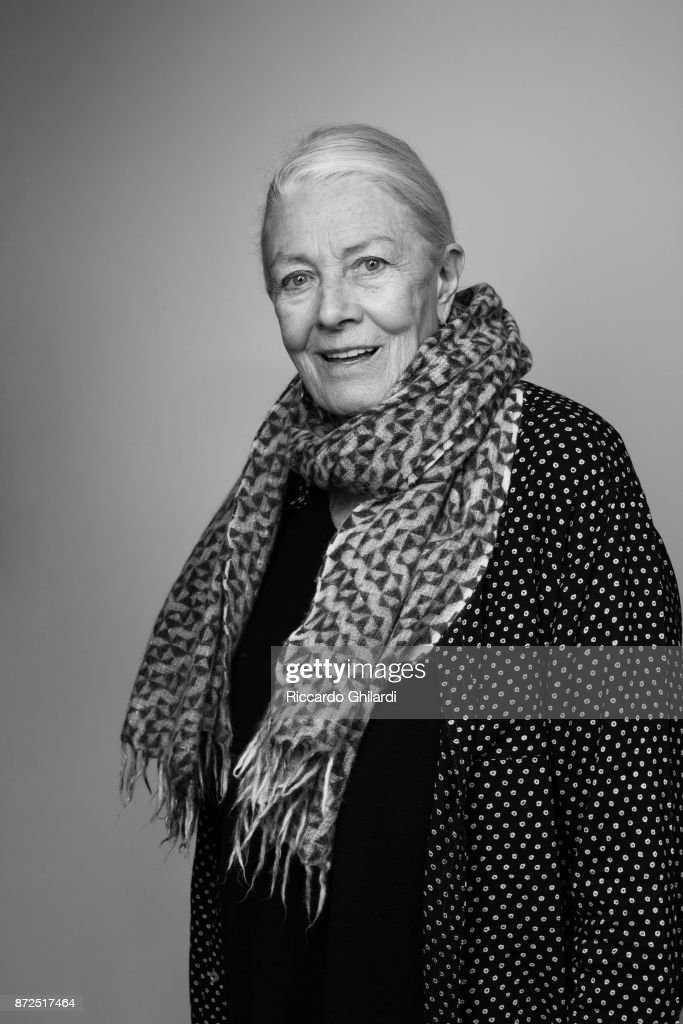 Actress Vanessa Redgrave poses for a portrait during the 12th Rome Film Festival on November, 2017 in Rome, Italy. (Photo by Riccardo Ghilardi/Contour by Getty Images).