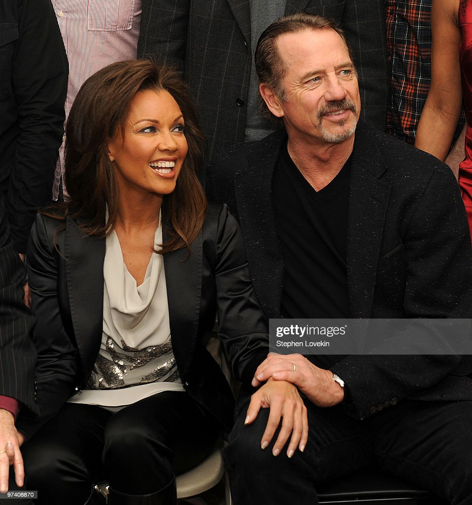Meet the cast of broadways actress vanessa williams and actor tom wopat attend the meet and greet for broadways sondheim kristyandbryce Image collections