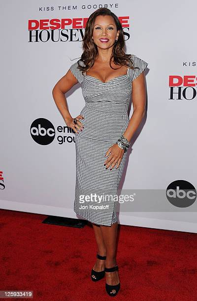 """Actress Vanessa Williams arrives at Disney ABC Television Group Hosts """"Desperate Housewives"""" - Final Season Kick-Off Party on September 21, 2011 in..."""