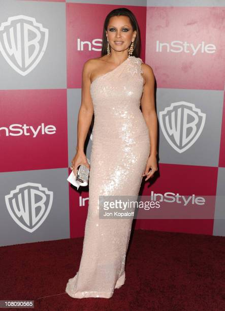 Actress Vanessa Williams arrives at the 2011 InStyle/Warner Brothers Golden Globes Party at The Beverly Hilton hotel on January 16 2011 in Beverly...