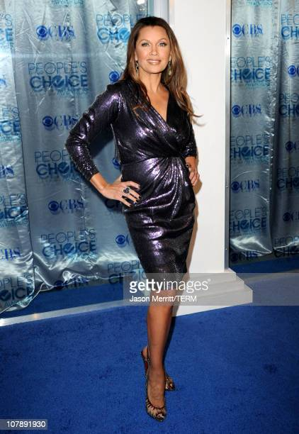 Actress Vanessa Williams arrives at the 2011 People's Choice Awards at Nokia Theatre LA Live on January 5 2011 in Los Angeles California