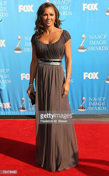 Actress Vanessa Williams arrives at the 38th annual NAACP Image Awards held at the Shrine Auditorium on March 2, 2007 in Los Angeles, California.