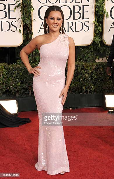 Actress Vanessa Williams arrives at the 68th Annual Golden Globe Awards held at The Beverly Hilton hotel on January 16 2011 in Beverly Hills...