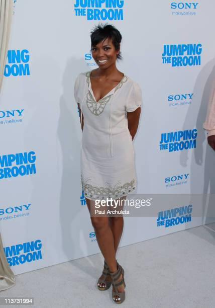 Actress Vanessa Williams arrives at the 'Jumping The Broom' Los Angeles premiere at ArcLight Cinemas Cinerama Dome on May 4 2011 in Hollywood...