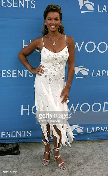 Actress Vanessa Williams arrives at the Stephen Sondheim's 75th Birthday Concert And ASCAP Foundation Benefit at the Hollywood Bowl on July 8, 2005...