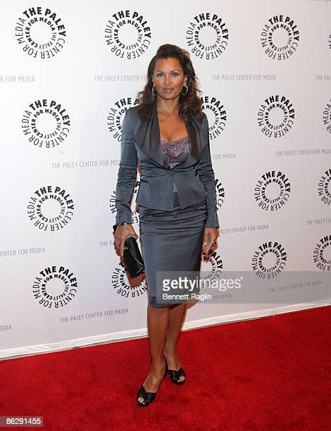 Actress Vanessa Williams attends a preview of the 'Ugly Betty The Rabbit Test' episode at The Paley Center for Media on April 29 2009 in New York City