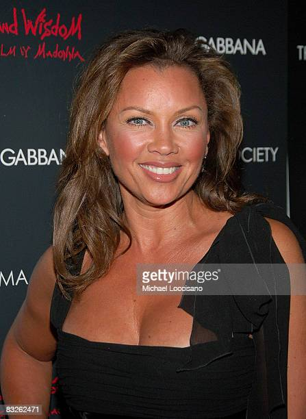 Actress Vanessa Williams attends a screening of Filth and Wisdom hosted by The Cinema Society and Dolce and Gabbana at the IFC Center on October 13...