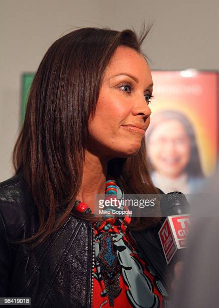 Actress Vanessa Williams attends an Ugly Betty charity auction benefiting Save the Children at Axelle Fine Arts Gallery Ltd on April 12 2010 in New...