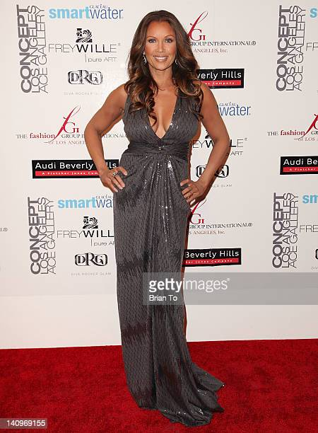 Actress Vanessa Williams attends Fashion Group International's Meet the Designer & the Muse at Ace Gallery on March 8, 2012 in Los Angeles,...