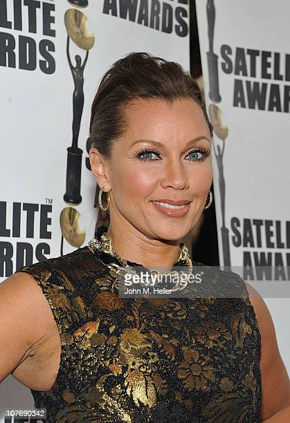 Actress Vanessa Williams attends the 2010 International Press Academies Satellite Awards at the Intercontinental Hotel on December 19 2010 in Century...