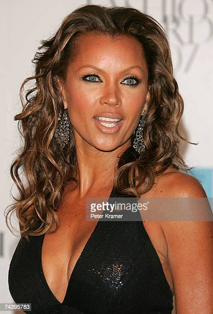 Actress Vanessa Williams attends the 25th Anniversary of the Annual CFDA Fashion Awards held at the New York Public Library on June 4 2007 in New...