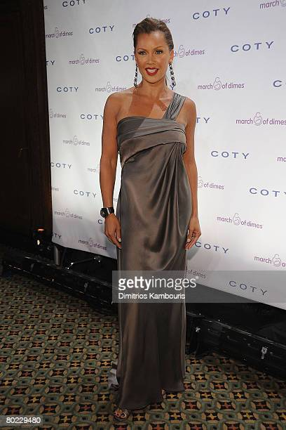 Actress Vanessa Williams attends the 33rd Annual March of Dimes Beauty Ball at Cipriani on March 12 2008 in New York City