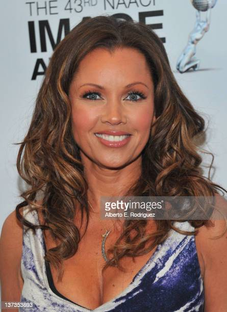 Actress Vanessa Williams attends the 43rd NAACP Image Awards Nomination announcement and press conference at The Paley Center for Media on January 19...