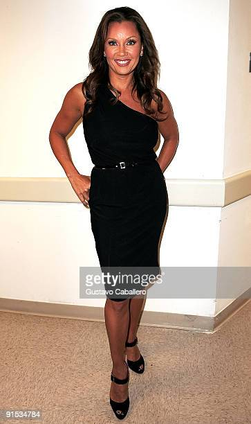 Actress Vanessa Williams attends the BOTOX Cosmetic Express Success Event charitable education event to benefit Dress for Success at the Epic Hotel...
