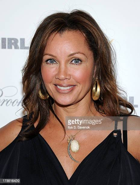 Actress Vanessa Williams attends The Cinema Society Brooks Brothers Host A Screening Of Lionsgate And Roadside Attractions' Girl Most Likelys at...