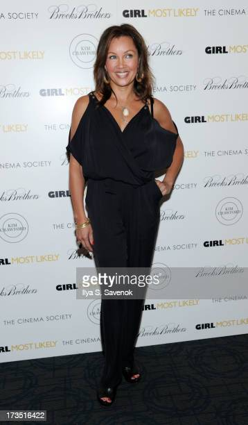 "Actress Vanessa Williams attends The Cinema Society & Brooks Brothers Host A Screening Of Lionsgate And Roadside Attractions' ""Girl Most Likely""s at..."