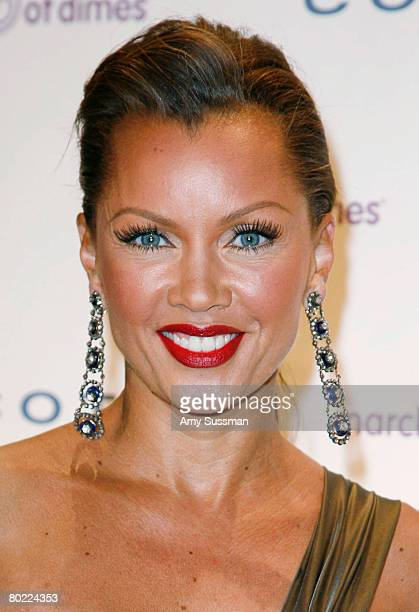 Actress Vanessa Williams attends the March of Dimes 33rd Annual Beauty Ball at Cipriani 42nd Street on March 12, 2008 in New York City.