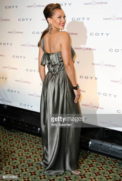 Actress Vanessa Williams attends the March of Dimes 33rd Annual Beauty Ball at Cipriani 42nd Street on March 12 2008 in New York City
