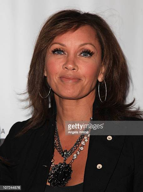 Actress Vanessa Williams attends the opening night of 'West Side Story' at the Pantages Theatre on December 1 2010 in Hollywood California