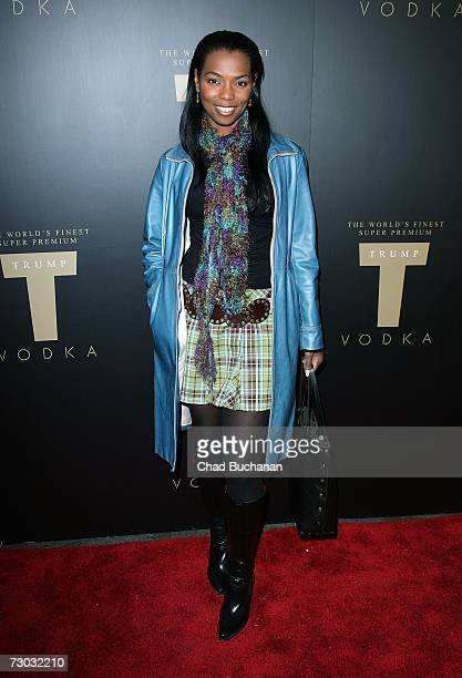 Actress Vanessa Williams attends Trump Vodka launch party at Les Deux on January 17, 2007 in Los Angeles, California.