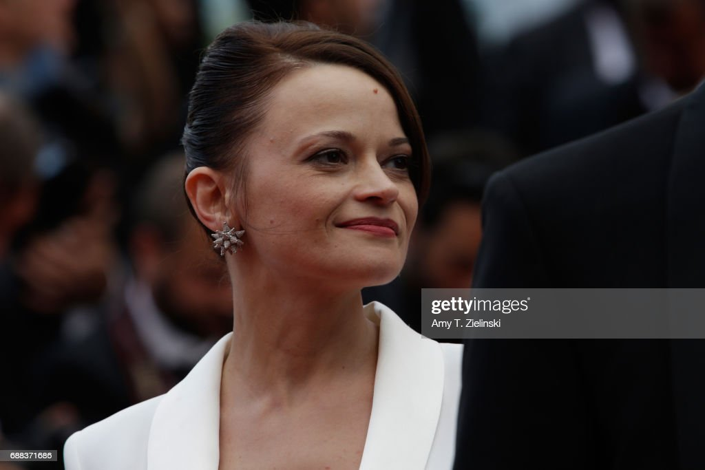 Actress Vasilina Makovtseva attends 'A Gentle Creature (Krotkaya)' premiere during the 70th annual Cannes Film Festival at Palais des Festivals on May 25, 2017 in Cannes, France.