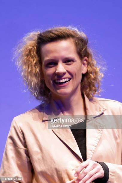 Actress Veerle Baetens attends the opening ceremony of 34th Mons International Film Festival on February 15 2019 in Mons Belgium