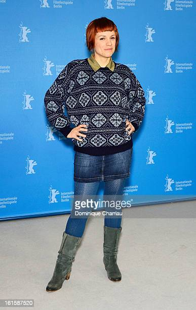 Actress Veerle Baetens attends the 'The Broken Circle Breakdown' Photocall during the 63rd Berlinale International Film Festival at the Grand Hyatt...