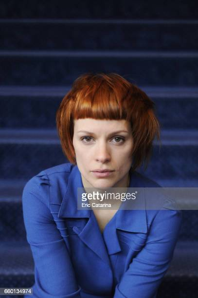 Actress Veerle Baetens is photographed for Self Assignment on February 17 2011 in Berlin Germany