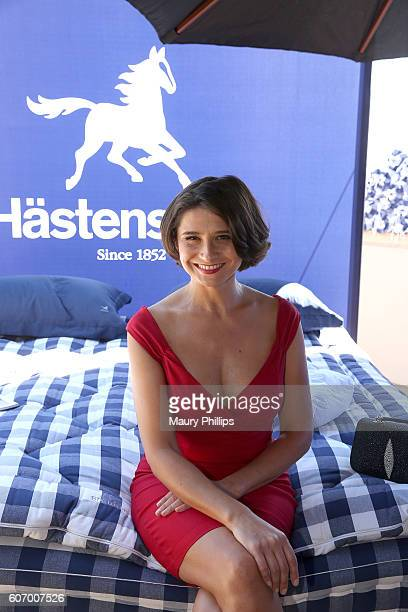 Actress Vera Cherny attends PILOT PEN GBK's PreEmmy Luxury Lounge Day 1 at L'Ermitage Beverly Hills Hotel on September 16 2016 in Beverly Hills...