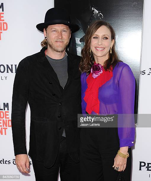 """Actress Vera Farmiga and husband Renn Hawkey attend the premiere of """"The Conjuring 2"""" at the 2016 Los Angeles Film Festival at TCL Chinese Theatre..."""