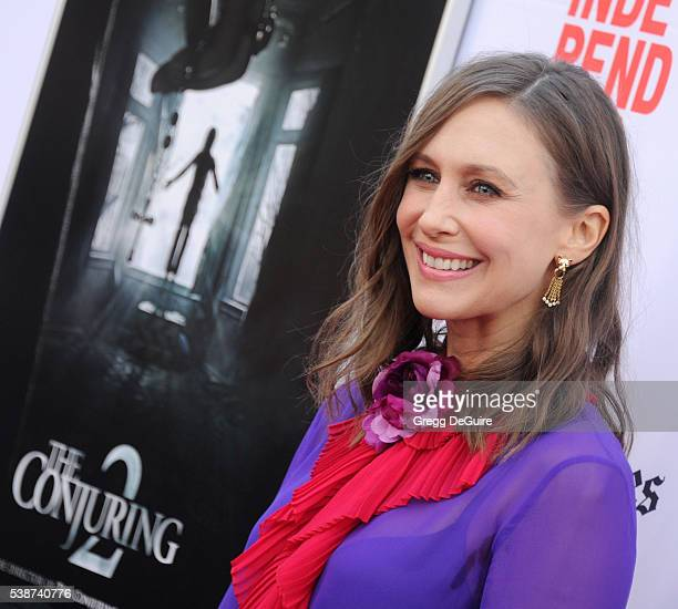 Actress Vera Farmiga arrives at the 2016 Los Angeles Film Festival The Conjuring 2 Premiere at TCL Chinese Theatre IMAX on June 7 2016 in Hollywood...