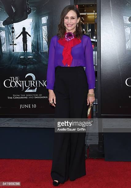 Actress Vera Farmiga arrives at the 2016 Los Angeles Film Festival 'The Conjuring 2' Premiere at TCL Chinese Theatre IMAX on June 7 2016 in Hollywood...