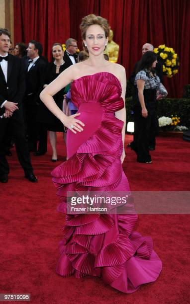 Actress Vera Farmiga arrives at the 82nd Annual Academy Awards held at Kodak Theatre on March 7 2010 in Hollywood California