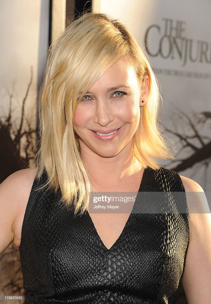 Actress Vera Farmiga arrives at 'The Conjuring' Los Angeles Premiere at the ArcLight Cinemas Cinerama Dome on July 15, 2013 in Hollywood, California.
